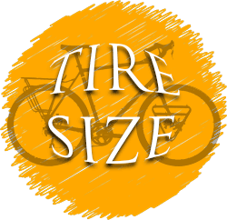 Adventure bike tire size
