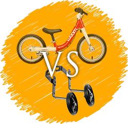 Balance bike vs trainng wheels
