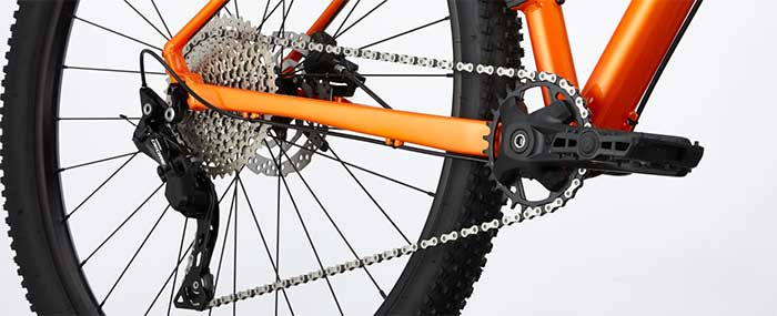 Cannondale Trail 4 groupset
