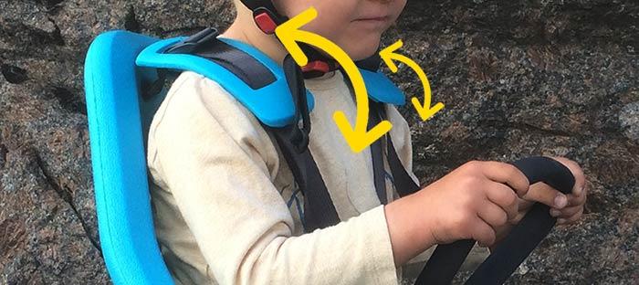 Seat shoulder straps