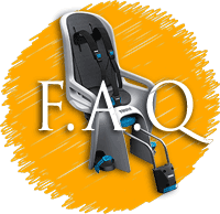 FAQ about kids bike seats