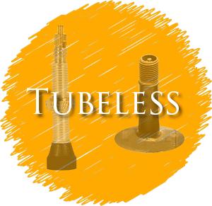 tubeless bike tire valves