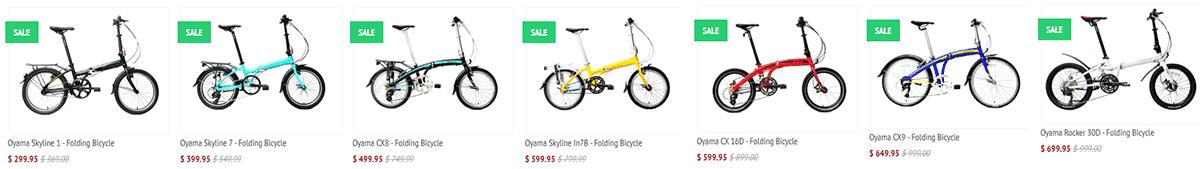 Oyama bikes