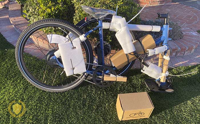 electric bike assembly