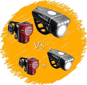 Rear vs Front lbike lights