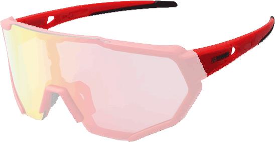 Cycling sunglass arms
