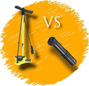 Floor vs mini pump