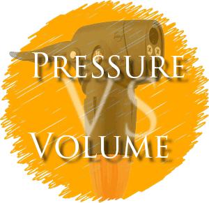 High bicycle pump pressure vs volume