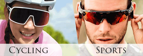 Sporting vs cycling sunglasses