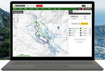 Trailforks cycling app
