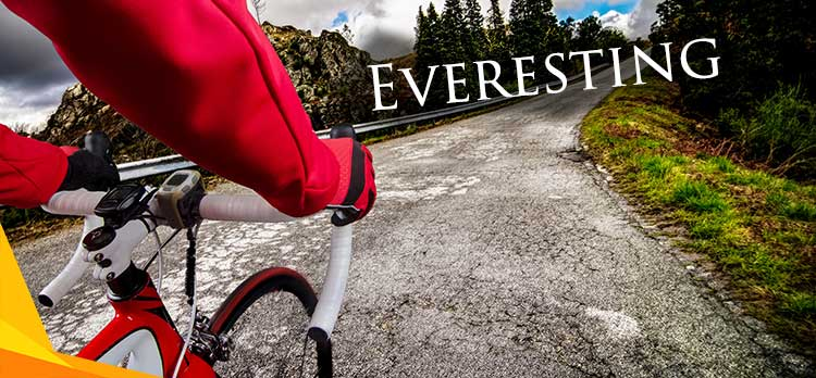What is everesting in cycling