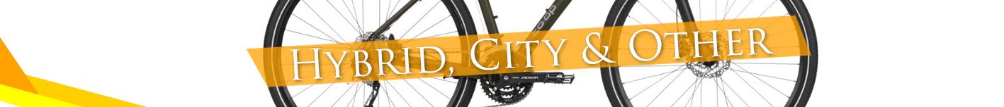 Hybrid, City bike Reviews