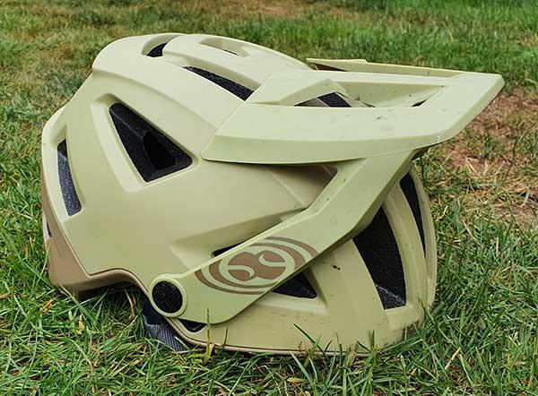 Bike helmet sunvisor