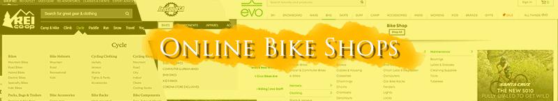 Online bike shops