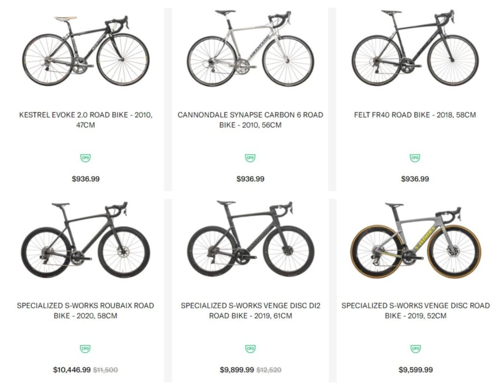 TPC Bikes for sale