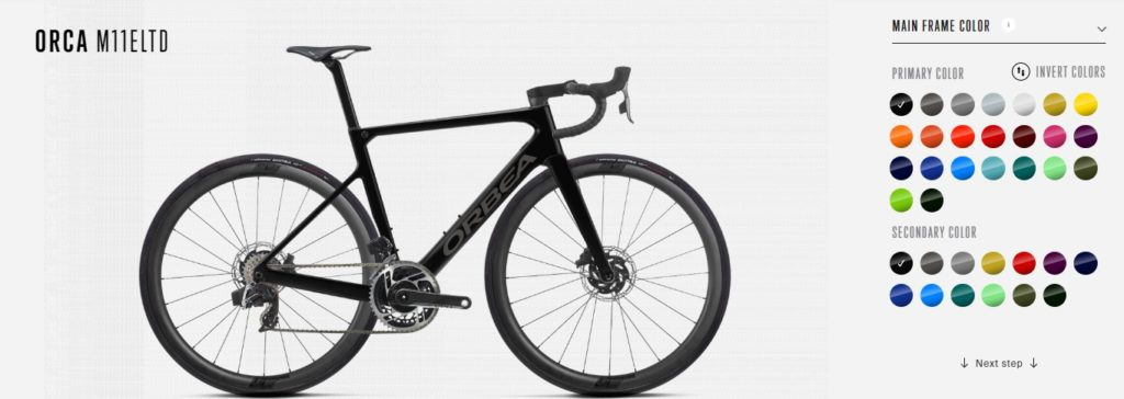 Orbea personalized bikes