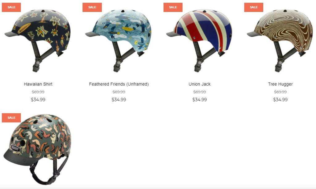 Nutcase bike helmets