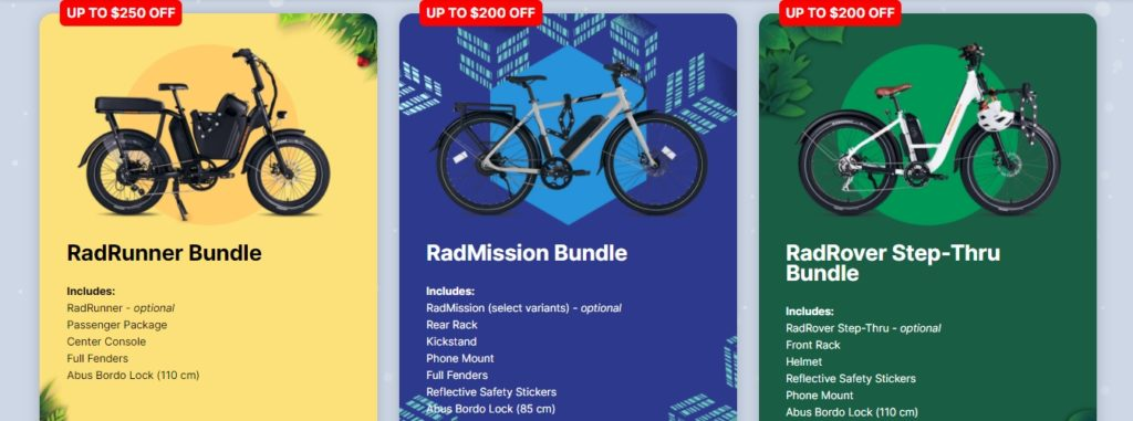 RadRunner holiday bundle discount