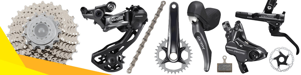 Bike groupsets and components