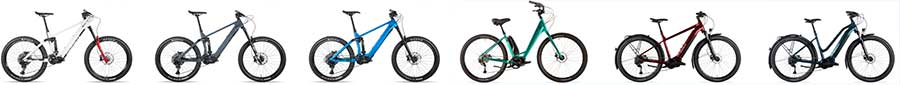 Norco VLT Electric bikes