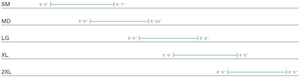 Cannondale Quick CX 2 size chart