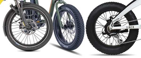 E-Bike wheel sizes