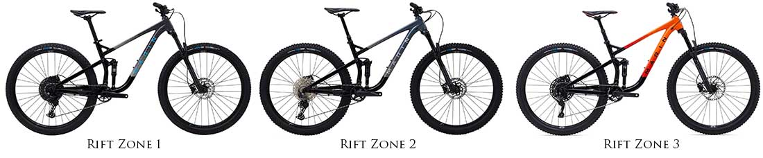 Marin Rift Zone models 1 2 and 3