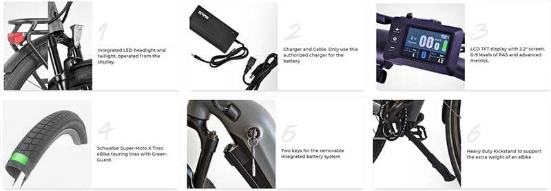 electric bike components