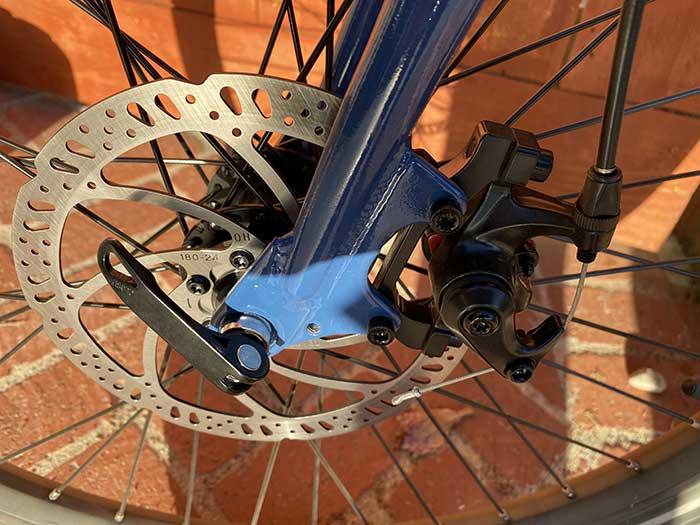 RadMission mechanical disc brake