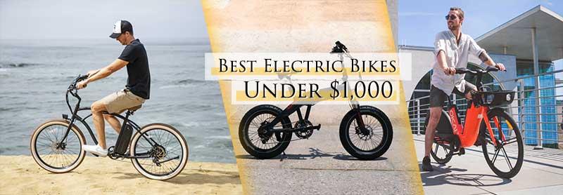 Best electric bikes under $1,000