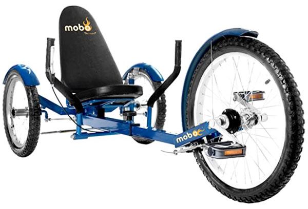 Mobo recumbent tricycle