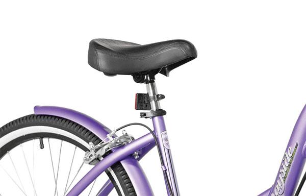 Comfort features of the bike