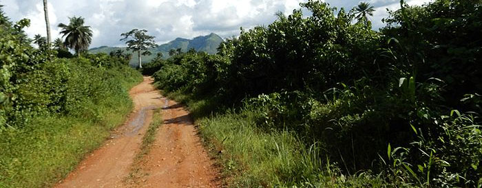 cycling in west africa