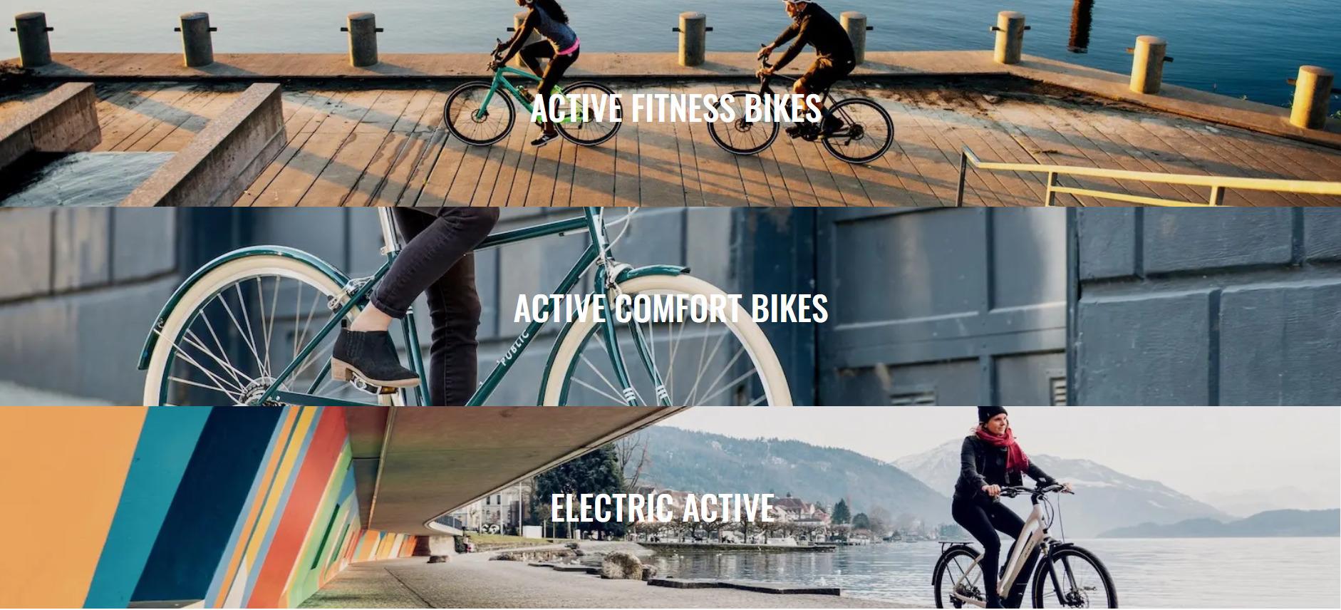 Active bikes