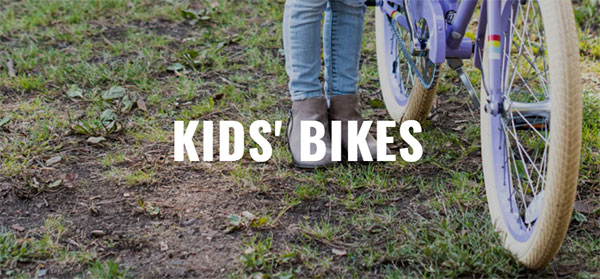 Kids bicycles on Mike's Bikes