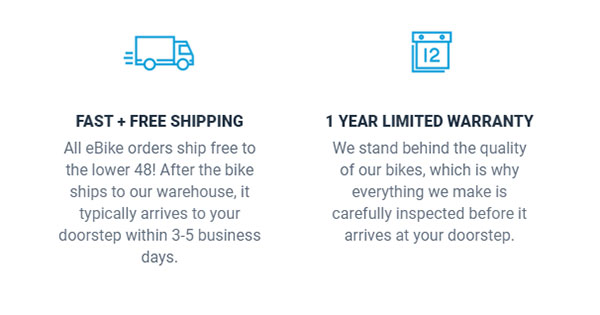 Lectric shipping and warranty