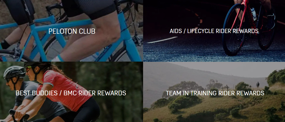 Mike's bikes services and rewards