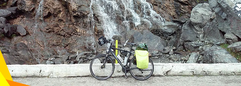 Preparing for a bike trip