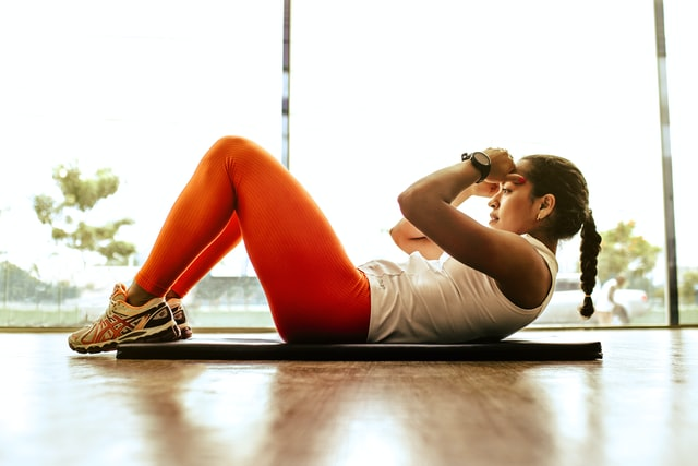 Training core muscles