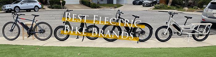 Best Electric Bike Brands