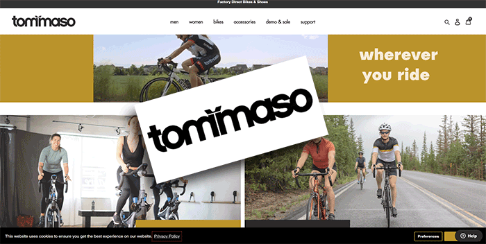 Buying From TommasoCycling.com